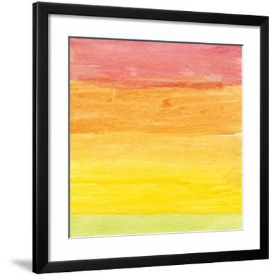 Watercolor 4, c.2011-Valerie Francoise-Framed Art Print