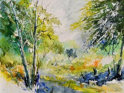 Watercolor 414061-Pol Ledent-Art Print