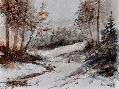 Watercolor 4256-Pol Ledent-Art Print