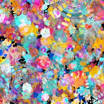Watercolor Abstract Background-tanor27-Art Print