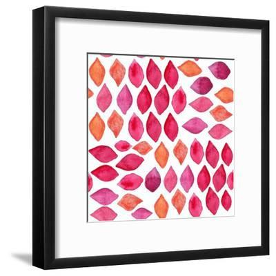 Watercolor Abstract Seamless Pattern-Ajgul-Framed Art Print
