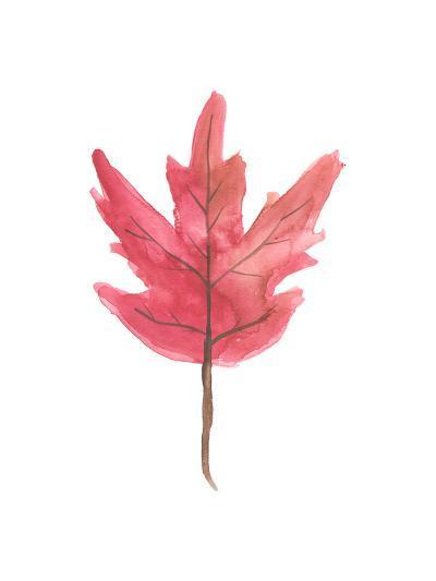 Watercolor Autumn Leaf-Jetty Printables-Art Print