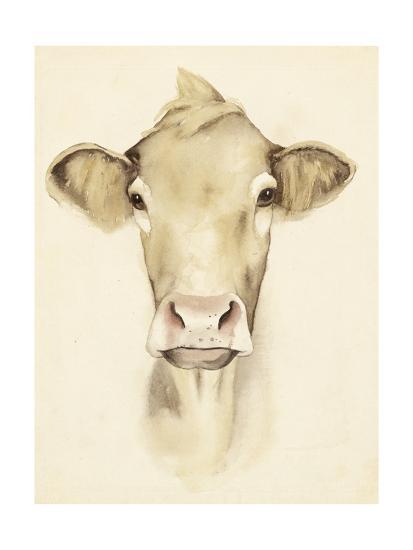 Watercolor Barn Animals III-Grace Popp-Art Print
