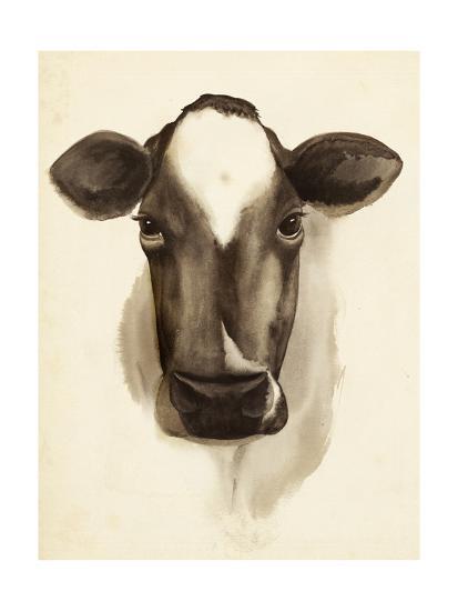 Watercolor Barn Animals IV-Grace Popp-Art Print