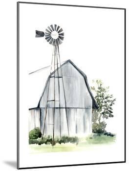 Watercolor Barn I-Jennifer Paxton Parker-Mounted Art Print