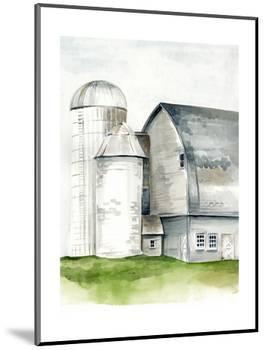 Watercolor Barn II-Jennifer Paxton Parker-Mounted Art Print