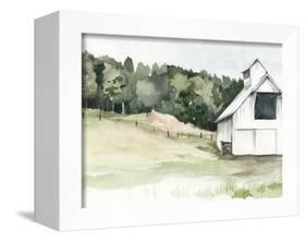 Watercolor Barn III-Jennifer Paxton Parker-Framed Stretched Canvas