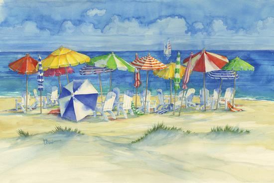 Watercolor Beach Art Print Paul