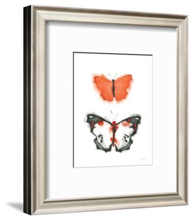 Watercolor Butterflies III-Shirley Novak-Framed Art Print