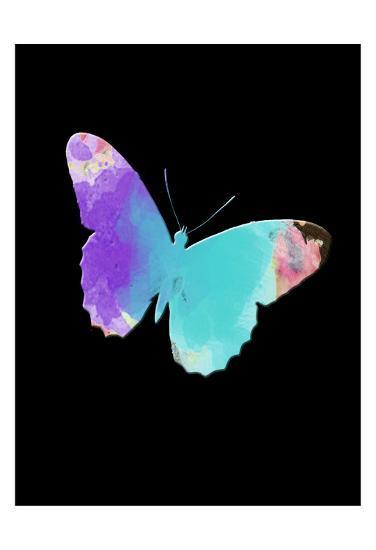 Watercolor Butterfly-Sheldon Lewis-Art Print
