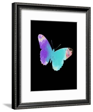 Watercolor Butterfly-Sheldon Lewis-Framed Art Print