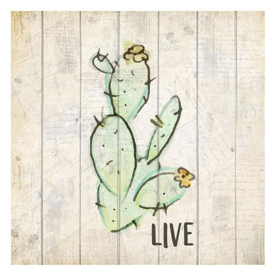 Watercolor Cactus Live-Kimberly Allen-Art Print