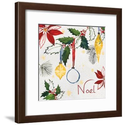 Watercolor Christmas IV-Harriet Sussman-Framed Art Print