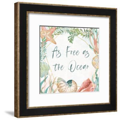 Watercolor Coast II-Beth Grove-Framed Art Print