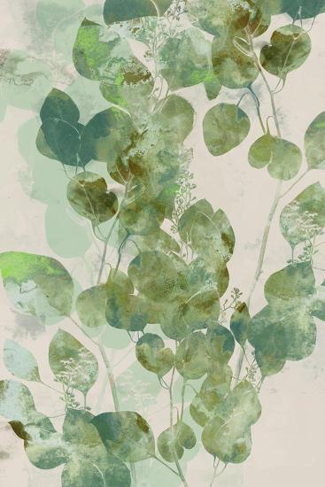 Watercolor Eucalyptus I-Jennifer Goldberger-Art Print