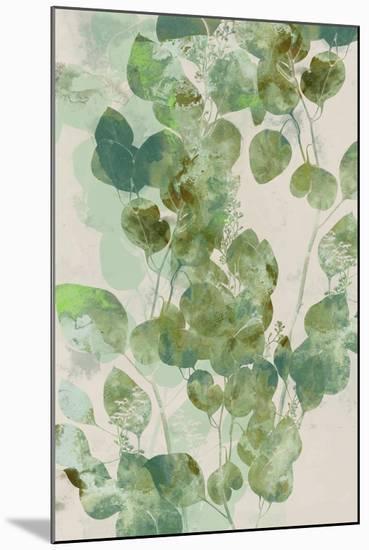 Watercolor Eucalyptus I-Jennifer Goldberger-Mounted Art Print