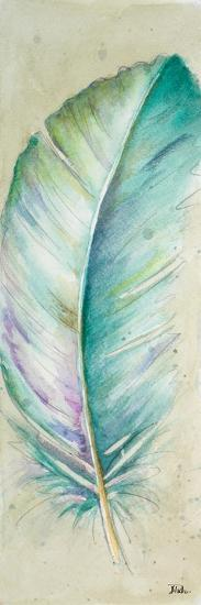 Watercolor Feather II-Patricia Pinto-Art Print