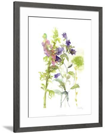 Watercolor Floral Study I-Melissa Wang-Framed Limited Edition