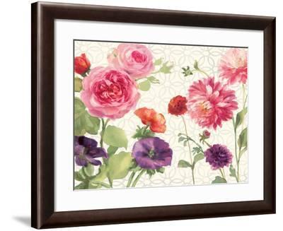 Watercolor Floral VII-Danhui Nai-Framed Art Print