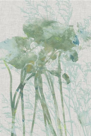Watercolor Flower Panel I-Jennifer Goldberger-Art Print