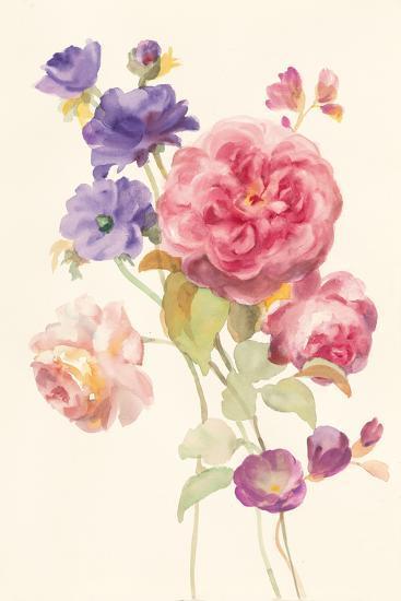 Watercolor Flowers II-Danhui Nai-Art Print
