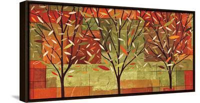Watercolor Forest II-Veronique Charron-Framed Canvas Print