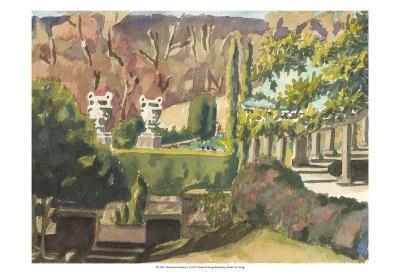 Watercolor Garden II-Dianne Miller-Art Print
