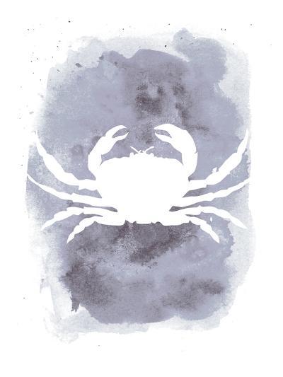Watercolor Gray Crab-Jetty Printables-Art Print
