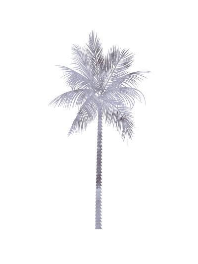Watercolor Gray Palm-Jetty Printables-Art Print