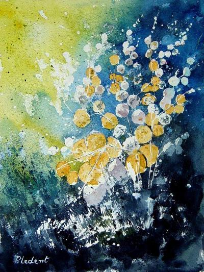 Watercolor John's Flowers-Pol Ledent-Art Print