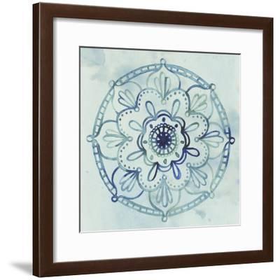 Watercolor Mandala IV-Grace Popp-Framed Art Print