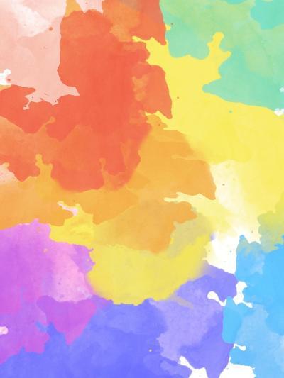 Watercolor Mess II-SD Graphics Studio-Art Print