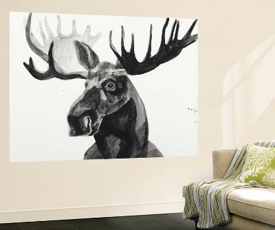 Watercolor Moose-Ben Gordon-Wall Mural
