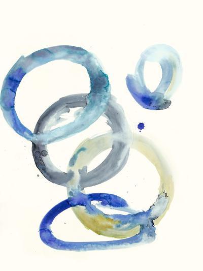Watercolor Oval 4-Natasha Marie-Premium Giclee Print
