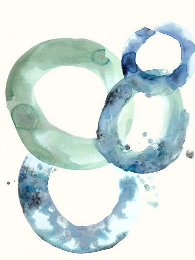 Watercolor Oval 5-Natasha Marie-Premium Giclee Print