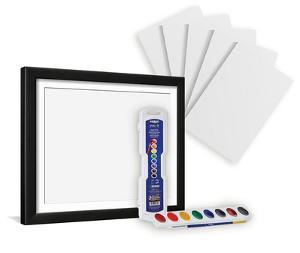 Watercolor Paint Kit and Frame