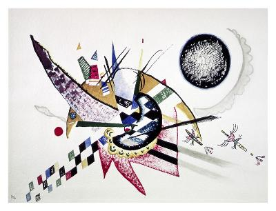 Watercolor Painting of Composition-Wassily Kandinsky-Art Print