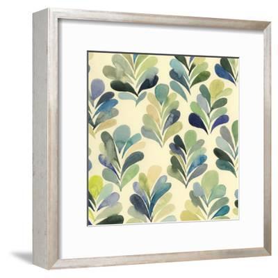 Watercolor Palms I-Grace Popp-Framed Art Print
