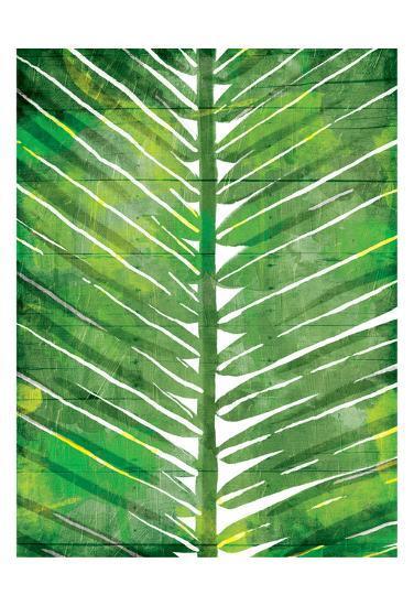 Watercolor Palms Mate-OnRei-Art Print