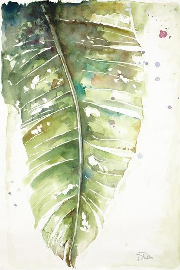 Watercolor Plantain Leaves I-Patricia Pinto-Art Print