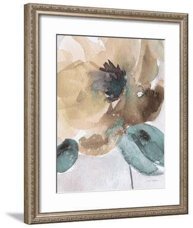 Watercolor Poppy II-Carol Robinson-Framed Art Print