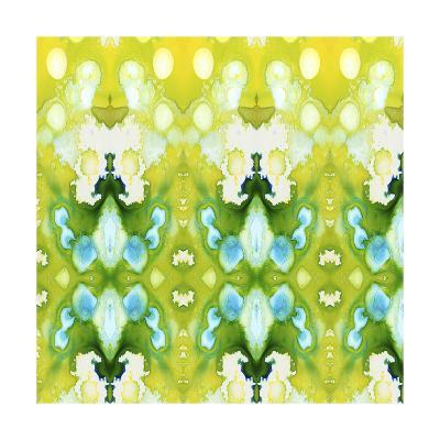 Watercolor Quilt IV-Jennifer Goldberger-Art Print
