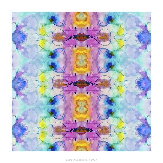 Watercolor Rainbow Hallucination-Lisa Katharina-Giclee Print