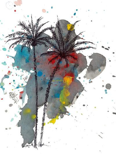 Watercolor Splash-Jan Weiss-Art Print