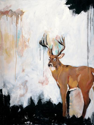 Watercolor Stag-Brooke Tangney-Premium Giclee Print