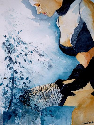 Watercolor Stockings-Pol Ledent-Art Print