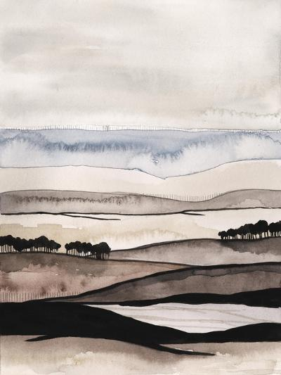 Watercolor Strata I-Grace Popp-Art Print