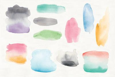 Watercolor Swatch Element-Elyse DeNeige-Art Print