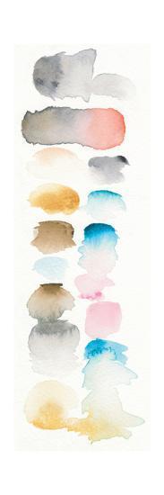 Watercolor Swatch Panel I Bright-Elyse DeNeige-Art Print