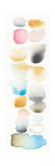 Watercolor Swatch Panel II Bright-Elyse DeNeige-Art Print